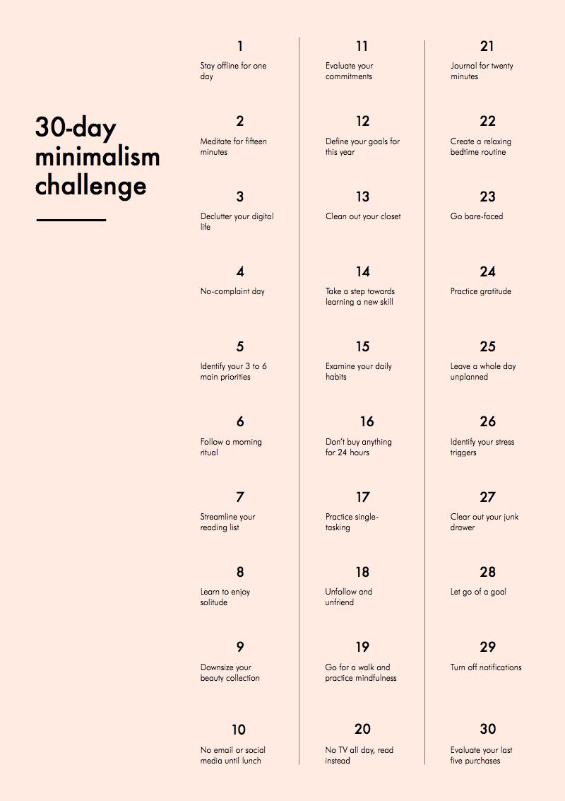 minimalismchallenge4